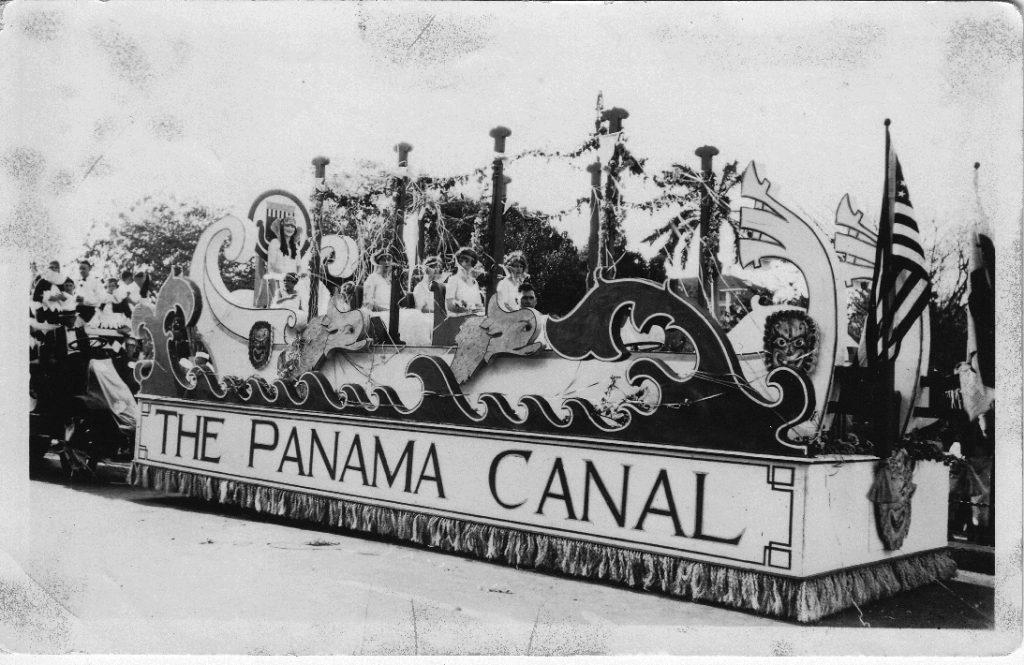Panama Canal Carnival Float
